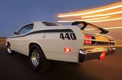 1970 Plymouth Duster 440 Maintenance of old vehicles: the material for new cogs/casters/gears/pads could be cast polyamide which I (Cast polyamide) can produce
