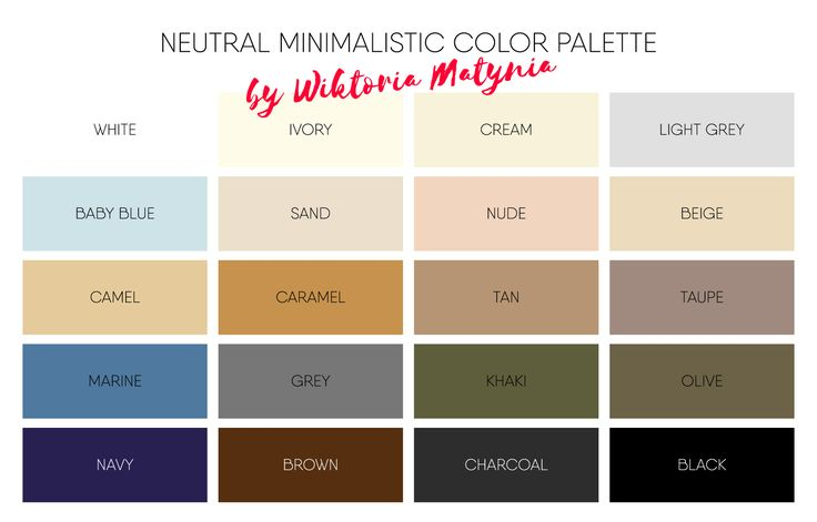 Minimalistic color palette chart vector architecture , basic , beige , blog , blogger , blue , bright , camel , capsule , chart , closet , clothes , cold , collection , color , compare , complementary , contemporary , create , dark , fabric , fashion , fit , gray , grey , guide , home , match , material , minimal , minimalist , mix , neutral , paint , palette , perfect , season , set , slow , suit , tone , trend , trendy , tutorial , vector , wardrobe , warm , white , year , your ,