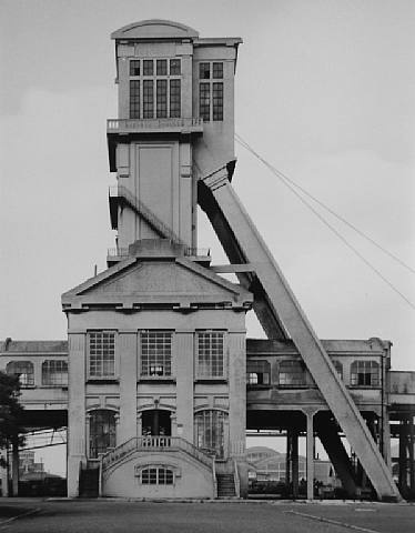Winding Tower: Fosse Grenay No. 1, Billy-Les-Mines, Nord-et Pas-de Calais, F, 1967