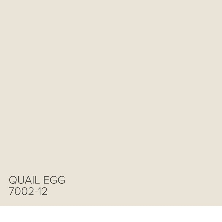 Here's a tip from Genevieve Gorder: Quail Egg 7002-12 is the lightest beige, it's a great wall color with a little warmth. Find more inspiration from our Valspar Perfect Neutrals Pinterest board: https://www.pinterest.com/valsparpaint/valspar-perfect-neutrals/ Lowe's: Quail Egg 7002-12 ACE: Graceful White 32-1B Indepedent: Canterbury Cream V163