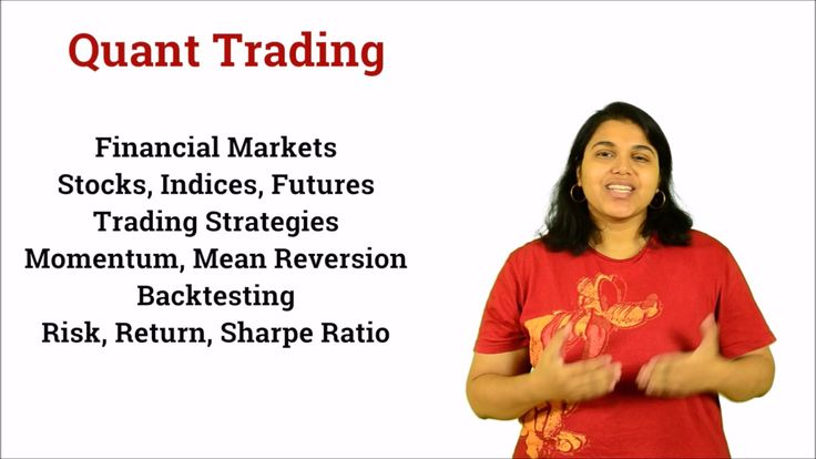 Quant Trading Using Machine Learning by the practical approach is taken by four ex-Google and Ex-Flipkart experts guide in the financial sector, shares, trading, and strategies using Python & MYSQL. https://www.youtube.com/watch?v=2qy2P4hiI7k&t=1s #quanttrading #machinelearning #onlinetraining #Scholarspro
