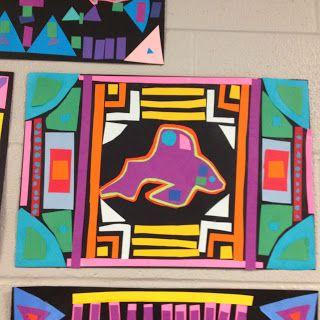 3rd Grade Art lesson Molas