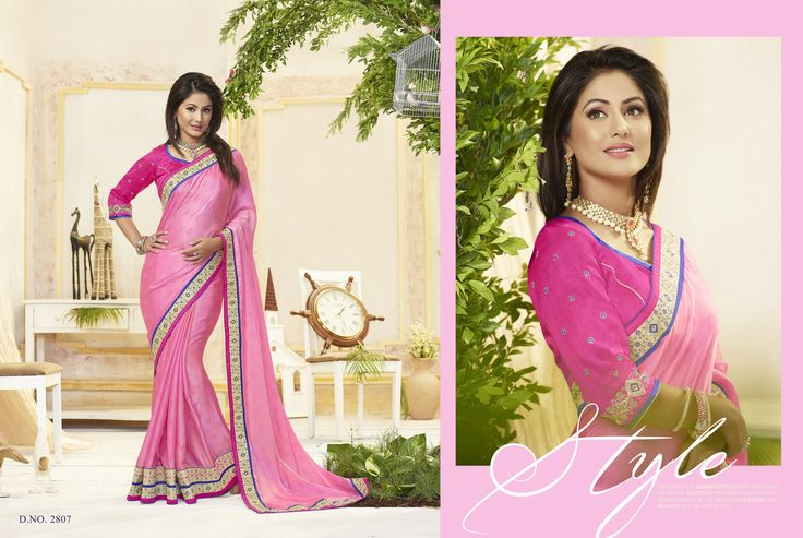 Latest #Hinakhan #yehrishtakyakehlatahai #yrkkh #GeorgetteSaree #JacquardSaree #NetSaree #VelvetSaree #ChiffonSaree #BollywoodSaree available online best price (Cat- Hinakhan-6001)