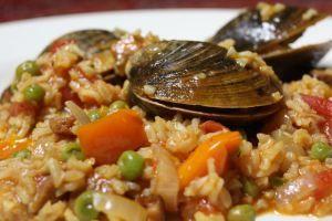 paella easy paella recipe myrecipes com quick and easy paella mark ...