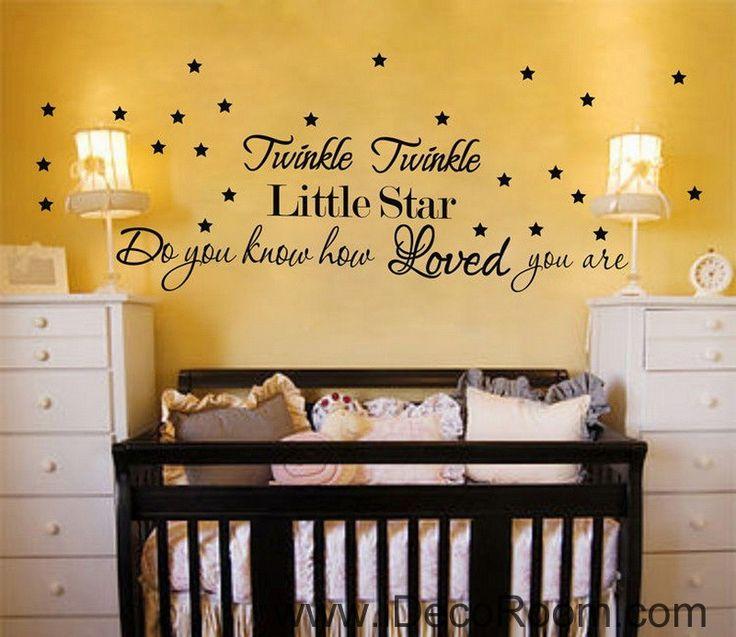 37 best Nursery Wall Decals images on Pinterest | Nursery wall ...