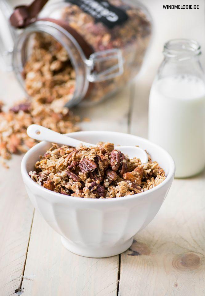Chai Granola Recipe with Christmas DIY - Healthy Food ❤