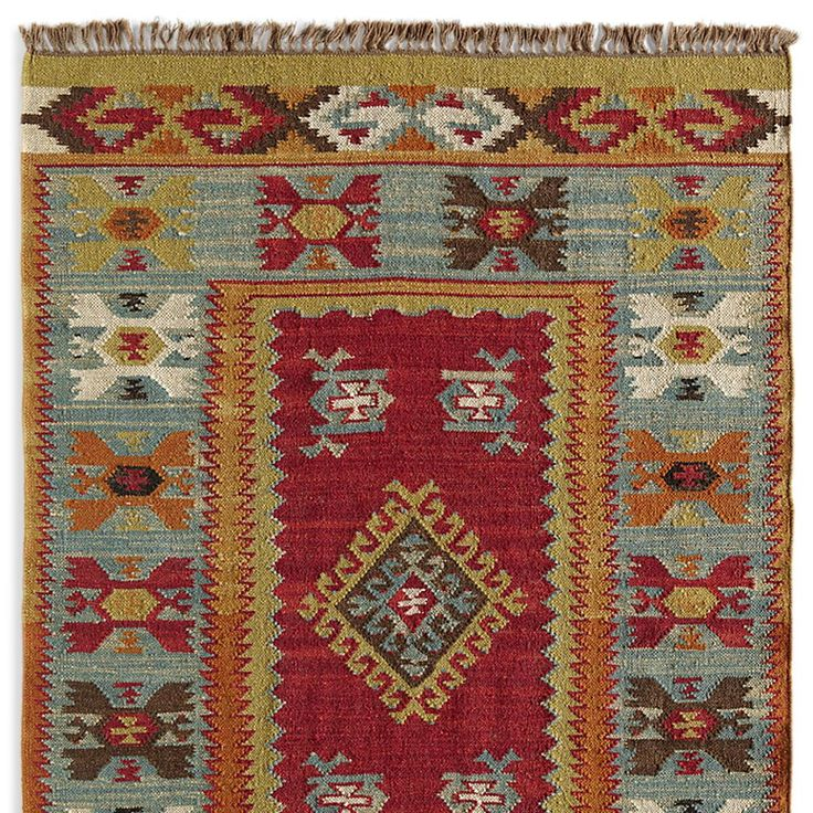 SUMMERHOUSE KILIM RUG -- Adapting patterns from old ...