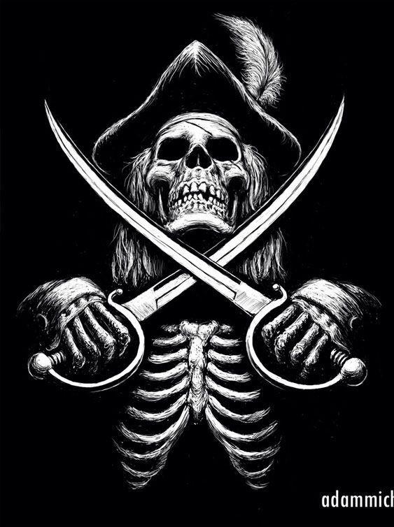 9 best skulls images on Pinterest   Skulls, Skull art and ...
