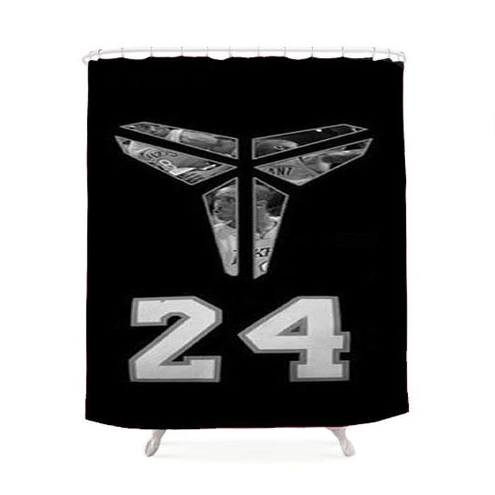 La Lakers Kobe Symbol Shower Curtain