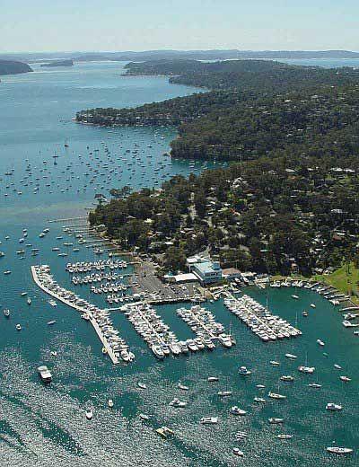 Newport marina Pittwater, NSW Australia.