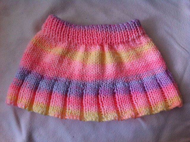 Knitting Pattern Baby Skirt : 17 Best images about doll clothes on Pinterest Poncho patterns, Crochet bab...