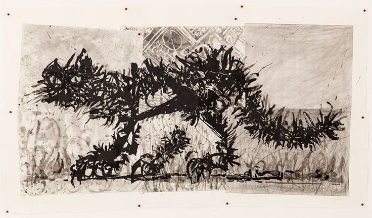 William Kentridge Scribble Cat - Signed Aquatint & Drypoint with Hand Painting in 6 plates for sale. From the signed edition of 30 print released in 2010.