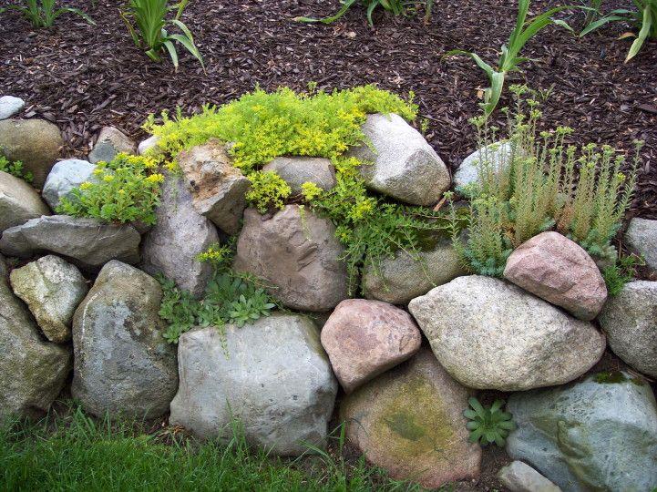 rock wall - Garden-Share