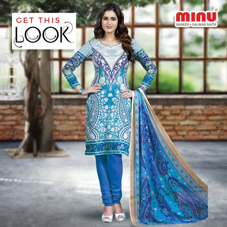 Cool Rangeela #Salwarsuitcollection from Minu fashion is perfect wear for this summer party. A statement with lovely Blue and White Color combination. Stand-out from other's.  Shop From  @ http://www.minufashion.com/view/Rangeela3_3011-4201 WhatsApp: +91 9674803887 | Call: +91 33-40669241  #Minu #cotton #sarees #salwarsuits #indianwear #ethnicwear #onlineshopping #womenwear #traditional
