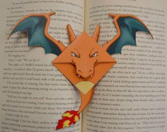 Dit is een bladwijzer die door mij ontworpen, Pokemon geïnspireerd fanart…