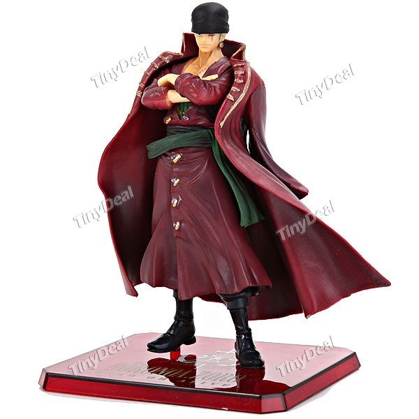 1 x Cool Cartoon Anime One Piece Roronoa Zoro Figure Doll Plaything Desktop Display Collection Toy TCT-296749