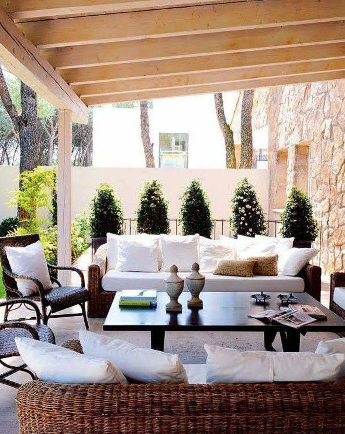 Ordinaire Decorer Sa Terrasse Exterieure Pas Cher #14: 60 Photos Comment Bien Aménager Sa Terrasse?