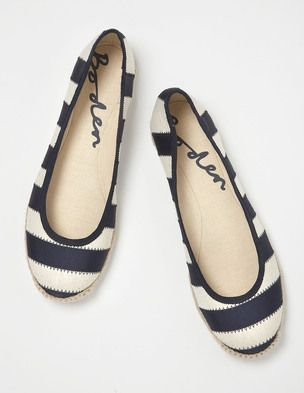 I've spotted this @BodenClothing Grosgrain Espadrille