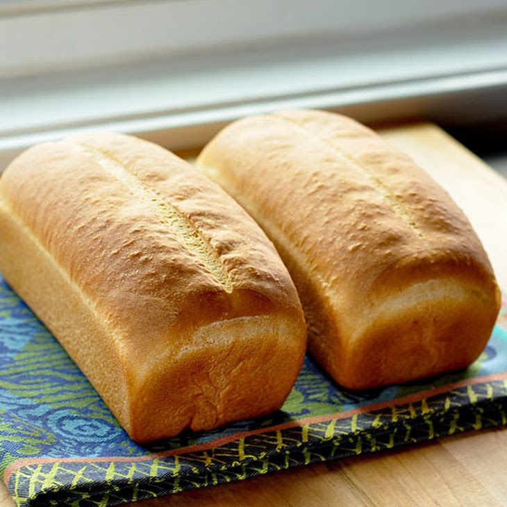 Basic White Sandwich Bread Recipe | Breads to Bake! | Pinterest