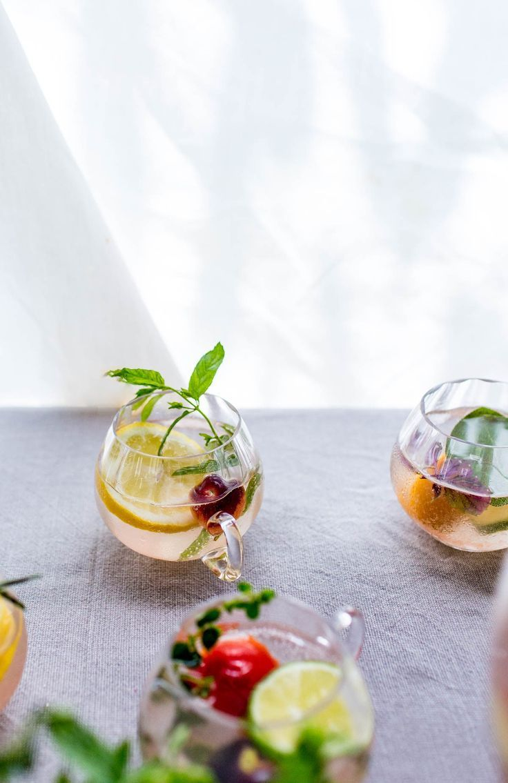 This Garden Tonic is my favorite punch to serve at parties! Bright, flavorful, and so easy to whip up!