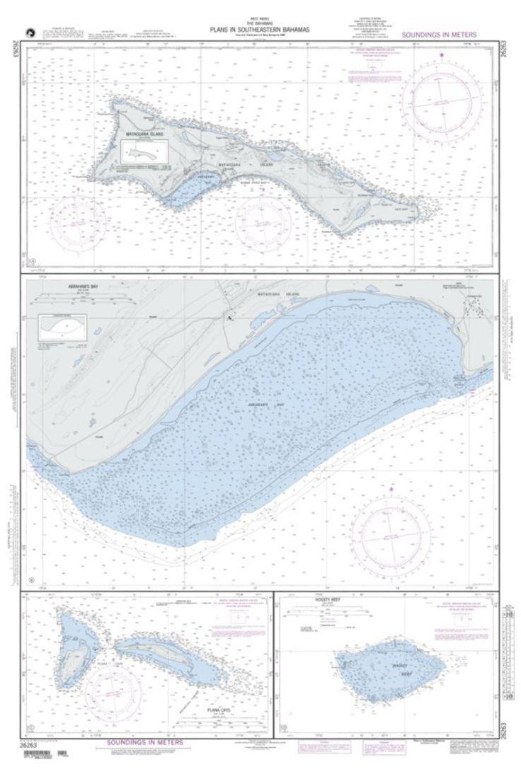 Plans In Southeastern Bahamas; Plan A: Mayaguana Island (NGA-26263-3) by National Geospatial-Intelligence Agency