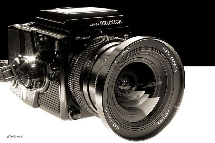 Bronica medium format SLR