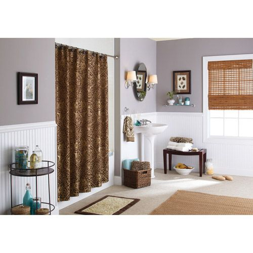 Better Homes and Gardens Floral Damask Shower Curtain  Butter Pecan Costa  Brown   Walmart. 42 best images about Most Popular Styles on Pinterest   Window