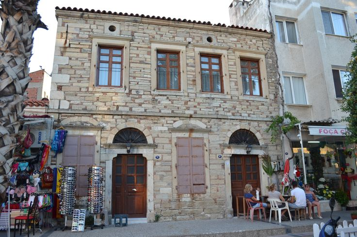 Stone house in Foca, Izmir, Turkey