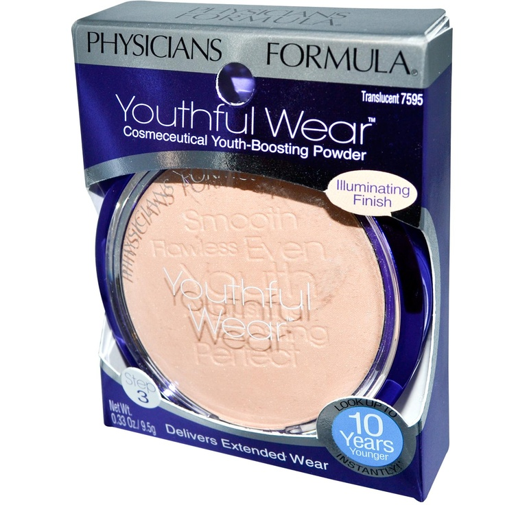 Physician's Formula, Inc., Youthful Wear, Illuminating Finish, Translucent, 0.33 oz (9.5 g) - iHerb.com