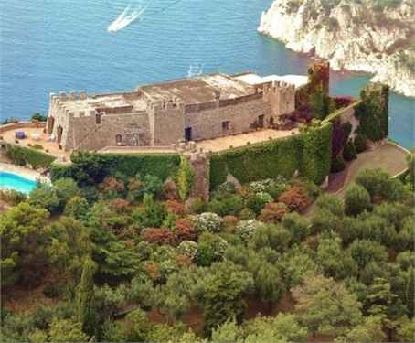 Exclusive Castle with Panoramic Sea View, Capri