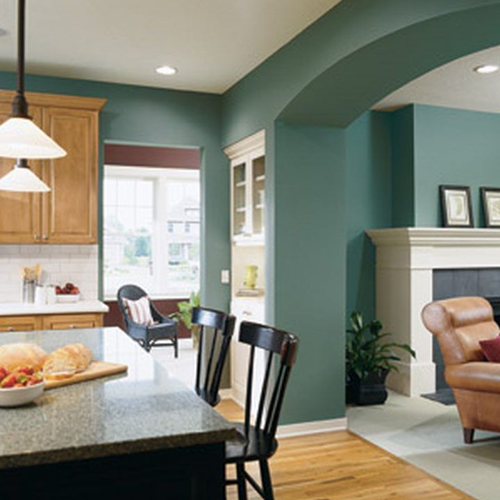 how to choose paint colors for an open floor plan - Yahoo Image Search Results