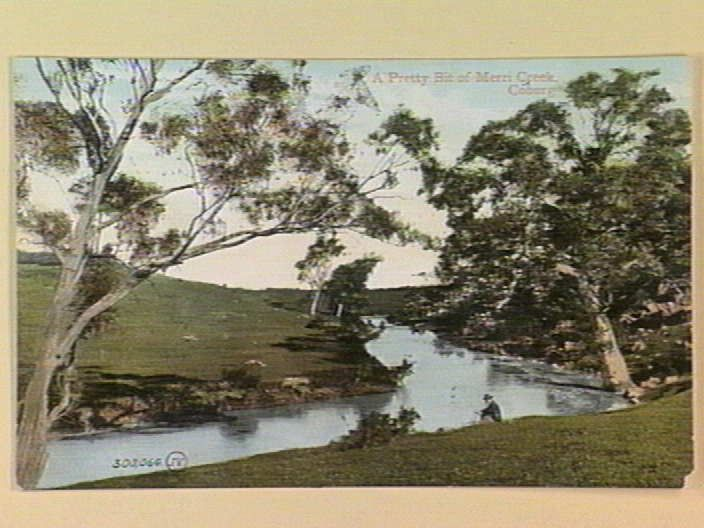 A Pretty Bit of Merri Creek. Coburg [picture] , State Library of Victoria