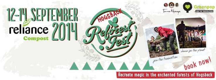 Hogsback Reforest Fest ! We bring the treevolution to Hogsback for the first time!
