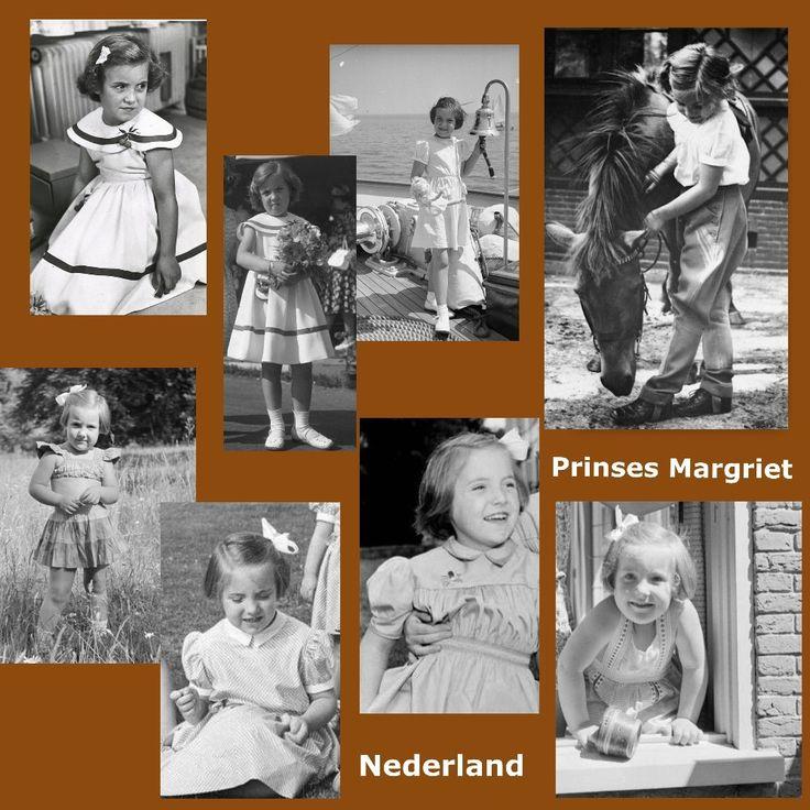 Prinses Margriet als kind (NL) gemaakt door Ria L