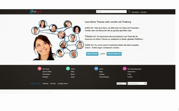 Schon mit dem kostenlosen Account viele Features  nutzen  > Werbung- aber wo?  HPP -Info-Blog: Traiborg