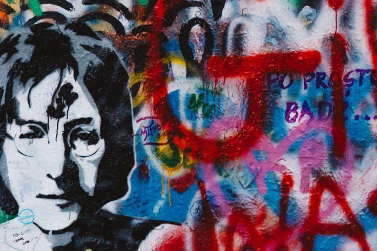 John Lennon wall in Prague • NewsXchange 2014 • Lucrezia Cosso • Photographer