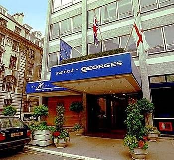 st george hotel london. The heights bar.