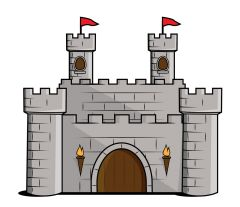 89 best medieval castle and knights images on pinterest medieval rh pinterest com clip art castle and clouds clipartcastle com