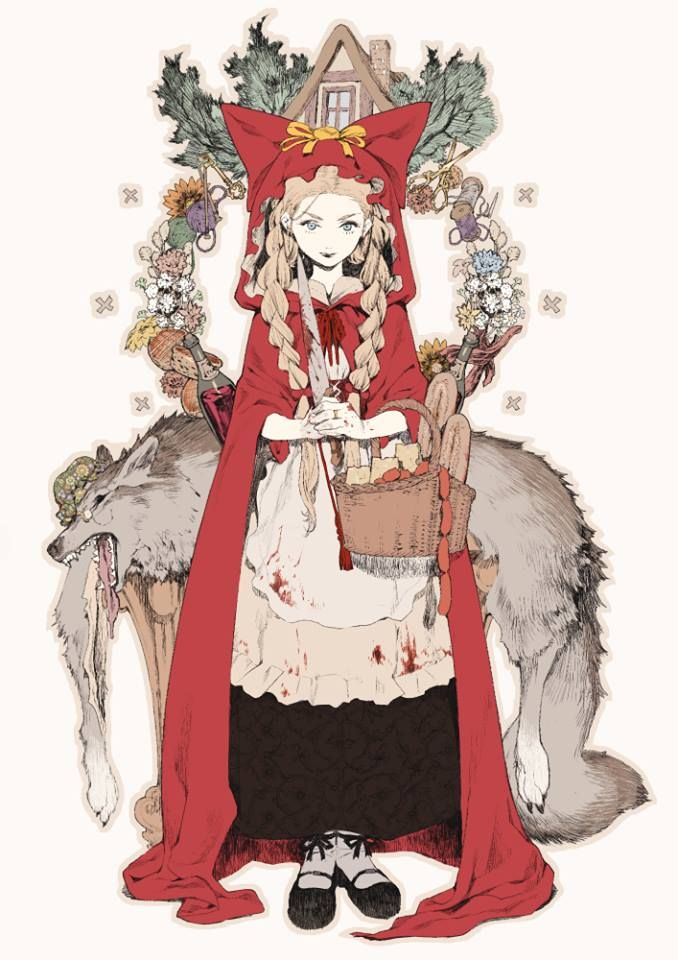 46 Best Little Red Riding Hood Characters Images On