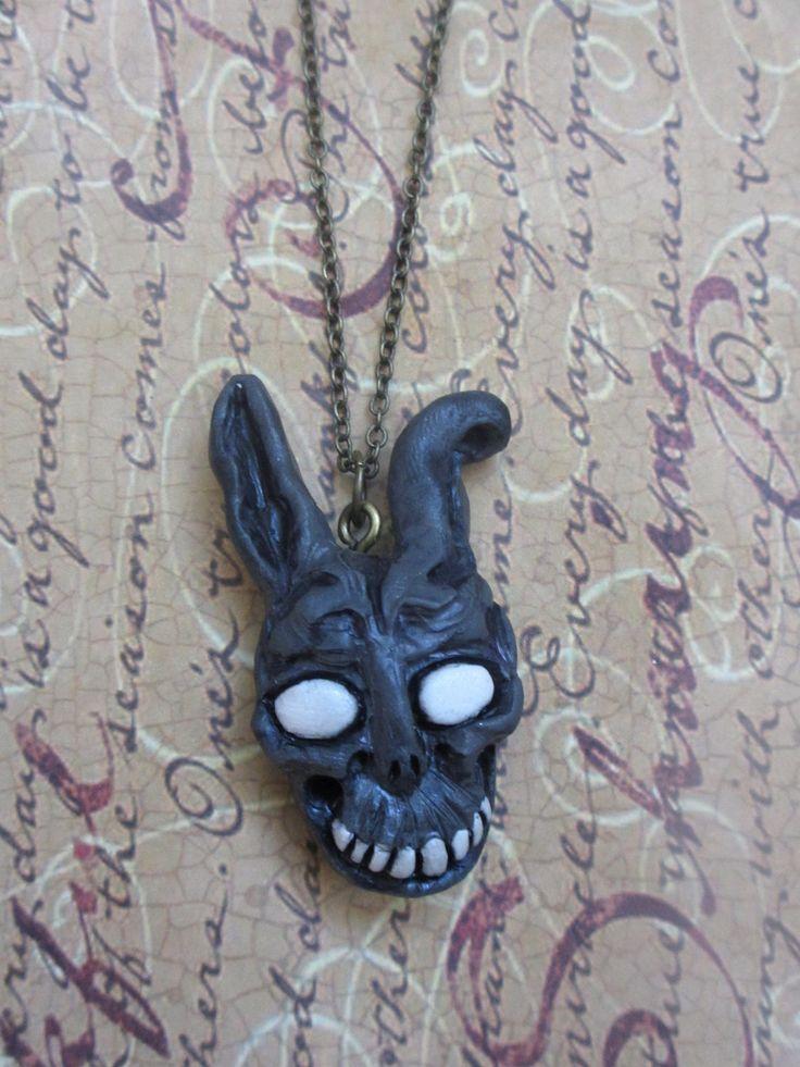 I want!  Frank the bunny mask necklace Donnie Darko