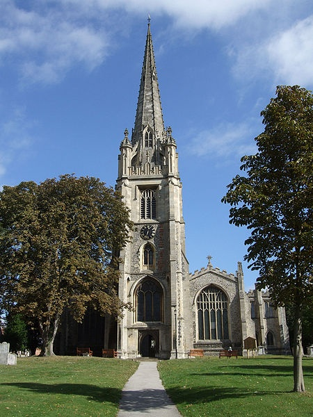 St Mary's Church, Saffron Walden, Essex, England