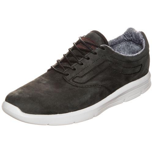 #VANS #Herren #Iso #1.5 #Suiting #Sneaker #Herren #schwarz Vans vereint in dem neuen Iso 1.5 klassische Elemente mit modernen Sneaker-Styles, welche vor allem durch ihr unbeschwertes und leichtgewichtiges Laufgefühl überzeugen. Obermaterial aus Leder verleiht diesem Sneaker eine hochwertige Optik, während das grafisch gemusterte Innenmaterial als Hingucker wirkt. Dank der innovativen Ultracush Lite-Technologie überzeugt der Schuh mit angenehmer Dämpfung und bewegungsfreundlicher…