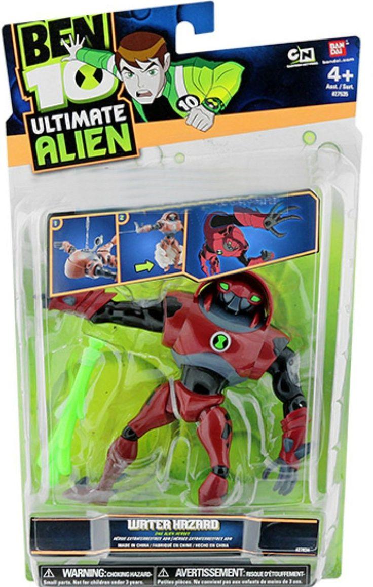 Ben 10 152906: Ben 10 Ultimate Alien 5 Water Hazard Cartoon Network New 2010 Factory Sealed -> BUY IT NOW ONLY: $34.99 on eBay!