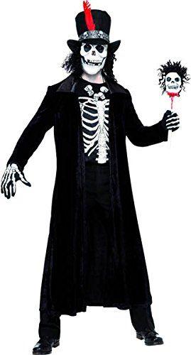 Herren Voodoo-Priester Kostüm ca 31€ | Kostüm-Idee zu Karneval, Halloween & Fasching