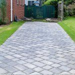 Concrete driveway pavers vs stamped concrete driveway
