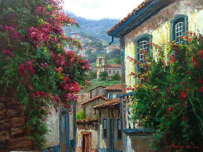 Tulio Dias: Florada em Ouro Preto
