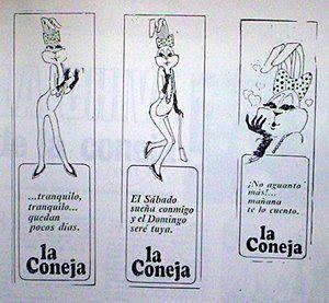 """""""La Coneja""""  Concurso - Estafa (Chile)  1971"""
