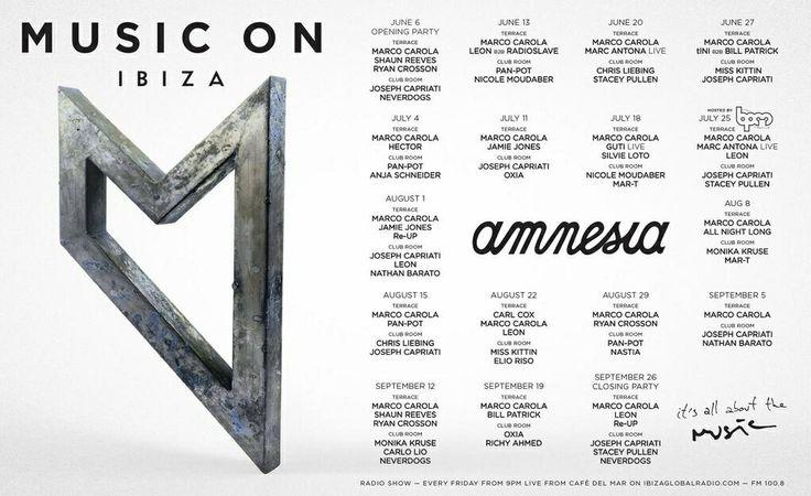 Music On @ Amnesia Ibiza, Ibiza, ES