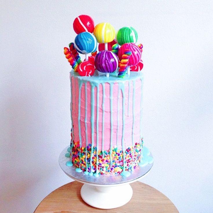 Best 25+ Candy Cakes Ideas On Pinterest