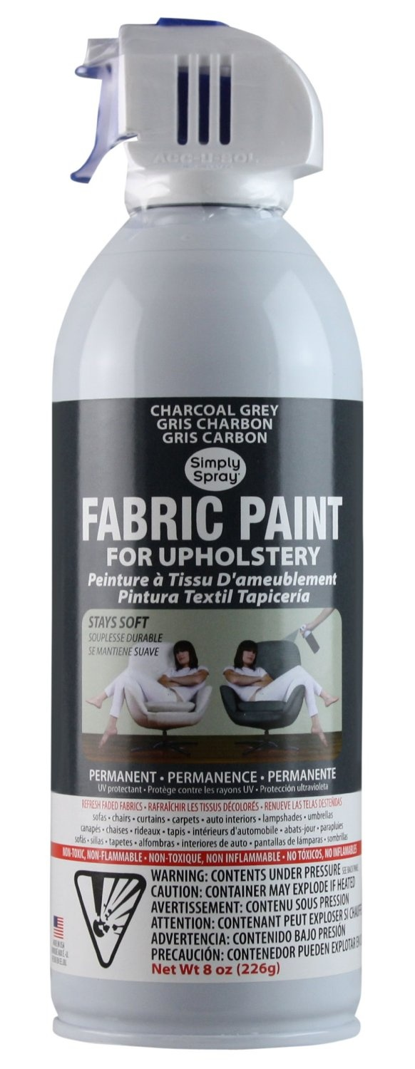 fabric spray paint fabric painting painting tips painting furniture. Black Bedroom Furniture Sets. Home Design Ideas
